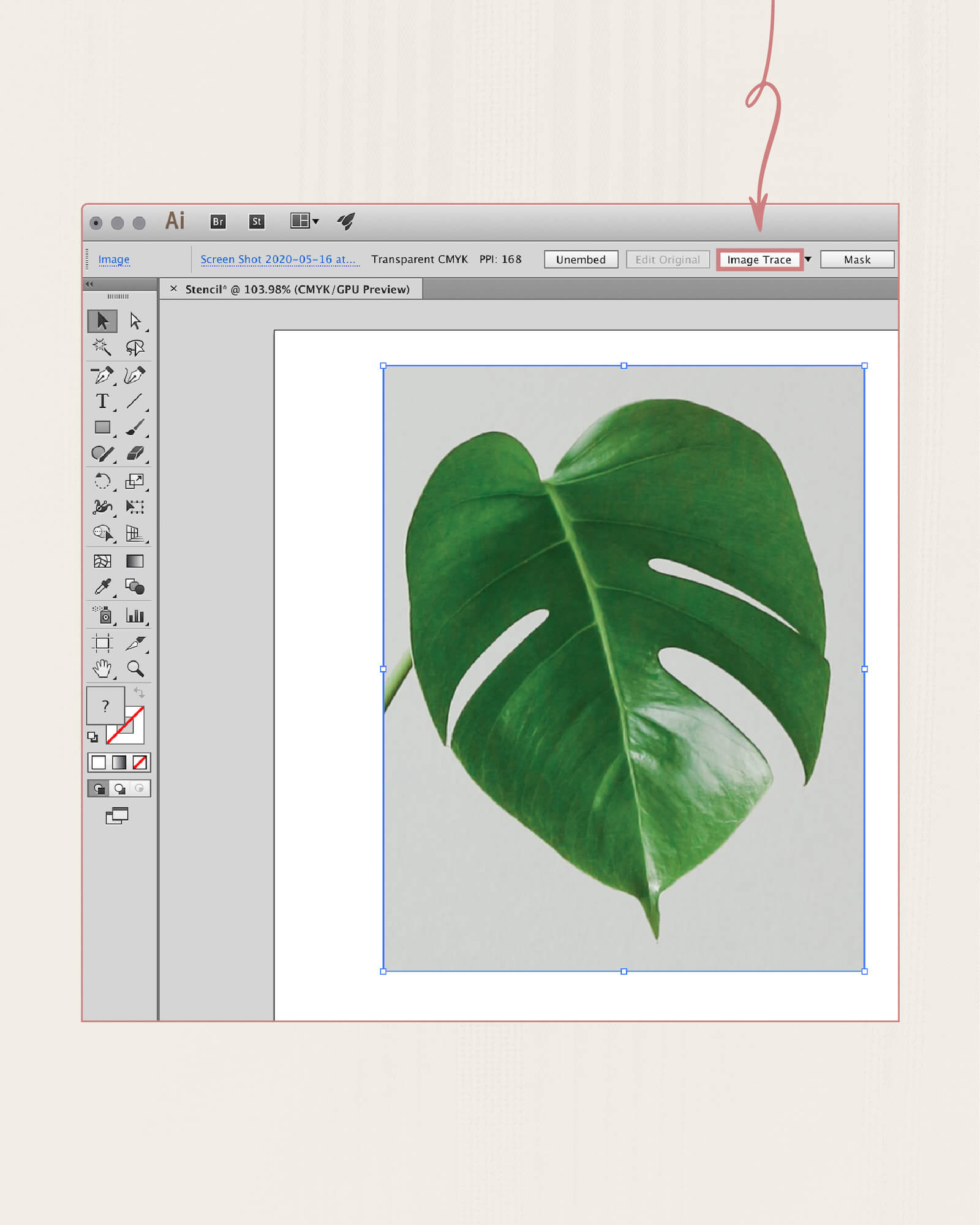 How to use Adobe Illustrator Image Trace
