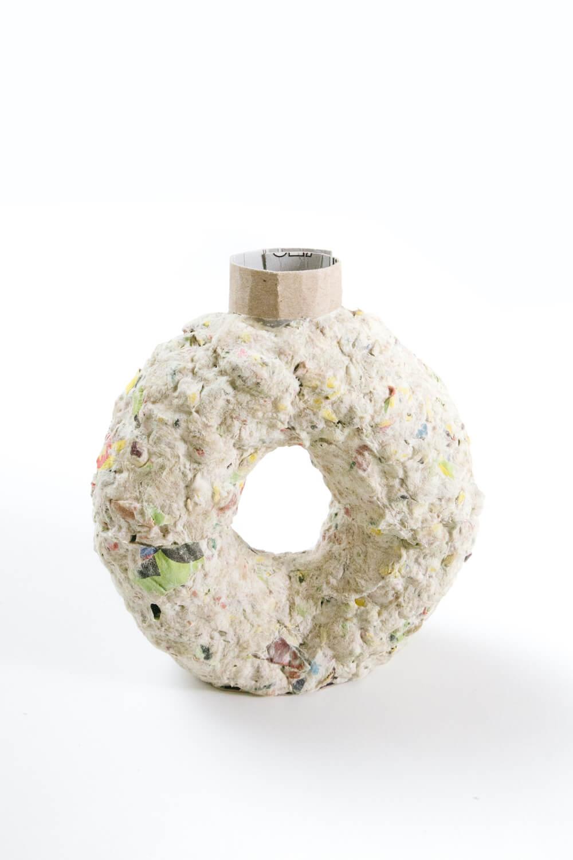 Paper Mache Clay Vase Structure
