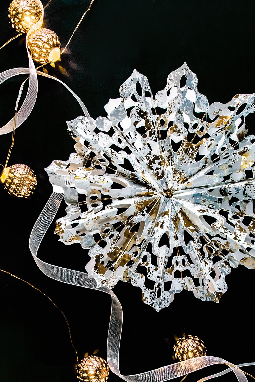 Cricut intricately folded paper star