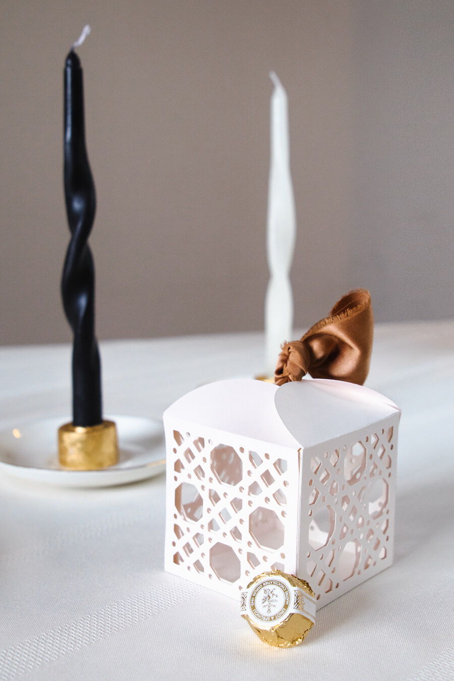 Woven Cane Gift Box